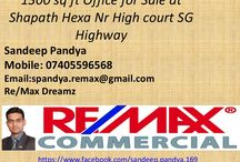 office for sale at Shapath Hexa near high court SG Highway