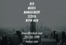 RED MEN SS16 Show Package / RED MEN SS16 Show Package