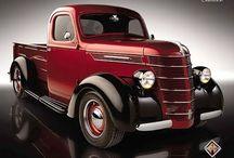 Classic pickup trucks