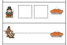 Thanksgiving Preschool work