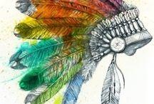 Feathers / #feathers #plumas #indio
