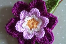 Flowers / Crochet & knit