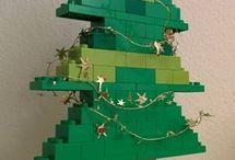 Lego julepynt