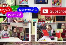 Skye's and Roman's World / One little girl, one little boy, loads of big moments