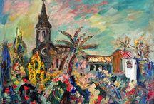 "Pintura: Josep Albertí Corominas / Exposició a Sant Feliu de Guíxols. ""Josep Albertí. L'etapa suïssa"". Obres donades per Frau Claudia Müller-Türler."