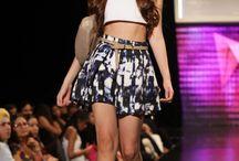 Casual outfis. / Atuendos casuales de distintas marcas desfiladas en Barranquilla Fashion Week 2013.