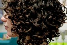 My short curly hair styles