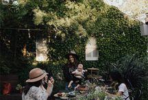 Outdoor space, backyards