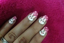 Nail art and nail polish / Just cute nail art I have come across / by Nayeli Gonzalez