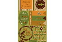 Fishing Scrapbooking / Scrapbooking Fishing layouts & products