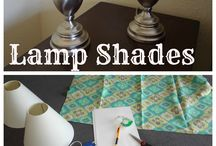DIY lamp shades / by Janine Smith
