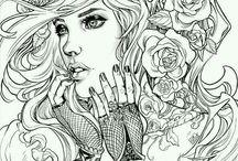 Face/female designs