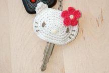crochet keyholders