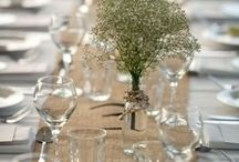 Wedding tables / Accessories for your wedding table by Idea Ribbon  http://www.idearibbon.com/jutaru2si1.html