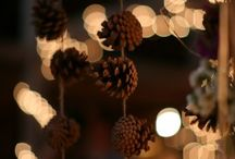 Pinecones, acorns, bells and more... / The three things that most remind me of the beauty of nature, the joy and simplicity. So small and so full of life. Like a Christmas: always alive!