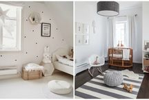 Fashionable children's rooms / The peaceful world of the little ones