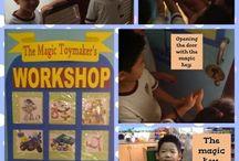 Theme: The Magic Toymaker - Thema: Speelgoed (IPC)