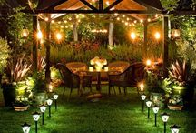 Candles & Lights & Centerpieces / by Lindsay Nadolny-Horsman