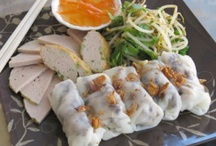 Steamed Rice Rolls Crepes / Bánh Cuon