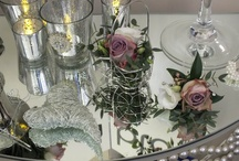 Vintage Pinks and Whites / Beautiful soft pale pinks will bring a touch of romance to your special day.