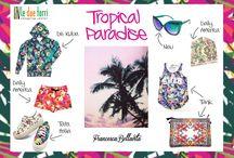 TROPICAL PARADISE / Le nuove proposte della fashion blogger Francesca Bellavita per il Centro Commerciale Le Due Torri. Tutti gli abiti sono stati selezionati all'interno del centro!