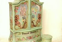 Decoupage meble