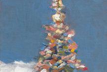 Christmas Painting Ideas / by Charlotte Dahlenburg