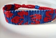 Friendship bracelets - Freundschaftsarmbänder / by Christine Hirler