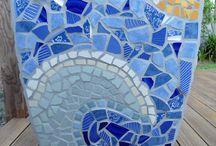 materas con mosaicos