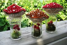 Mushrooms & Toadstools to Love... / Delightful mushrooms...toadstools...fungi...to love. / by DollZ and ThingZ