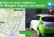 VIAGGIO PARRE - BOLZANO 330 KM 100% ELETTRICI / Abbiamo utilizzato un'auto Renault ZOE 100% elettrica per un normale viaggio di lavoro. Considerando l'autonomia dell'auto di c.a. 180 Km e la distanza da percorre di c.a. 330 Km Un'impresa impossibile?