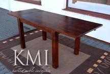 """wooden table - stoły drewniane / Wspólny posiłek to jedna z najważniejszych czynności w życiu rodzinnym. Jedzenie przy wspólnym stole umacnia więzi, zbliża , pozwala na lepsze wzajemne poznanie. Stół z litego egzotycznego drewna podkreśla rangę rodzinnych spotkań a odpowiednio pielęgnowany stanie się rodzinnym """"skarbem"""""""