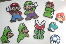 Plastic Canvas Mario