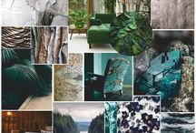 SS18 Trend: Wild Nature / Embracing the beauty of patterns and textures in nature, be inspired by rich green tones and breathtaking landscape imagery.