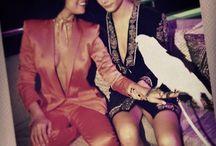 Selena and Cara