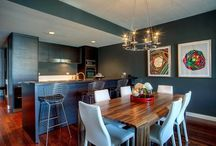 Dining Room Decor / The collection about dining room decoration. Here you can get inspiration before decorate the dining room