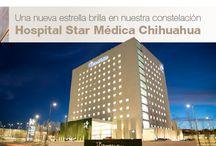 Hospital Star Médica Chihuahua / Perif. de la Juventud No. 6103 · Fracc. El Saucito · C.P. 31110 · Chihuahua, Chihuahua · Tel. (614) 432.6600 · Urgencias: Ext. 5 ·  Laboratorio: Ext 3