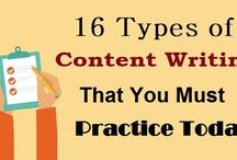 16 Types of #ContentWriting That You #MustPractice Today