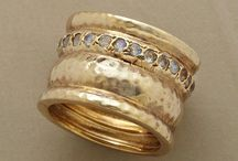 Rings / Silver and gold