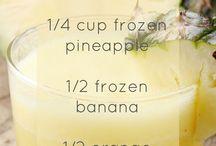 Protein shake recipes/smoothies