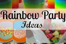 Party Theme - Rainbows