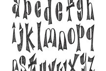 Calligraphy/Fonts