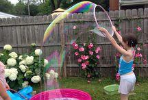 Maples bubble party