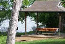 Loyd Park Grand Prairie, Texas / Features campsites, cabins and a meeting room plus hiking trail, Walnut Creek Paddling Trail, off-road bicycle trails and equestrian trails, beach, playground, boat docks, softball field and fishing dock.