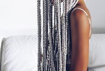 Long Box Braids / #rasta #braids #longhair #longbraids #longboxbraids