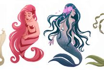 Mermaids & Fantasy / by Kathy Ahrens