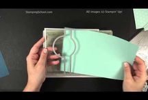 Circle Thinlet Cards / Creating cards with the Stampin Up Circle Thinlet