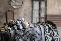 Boho Interiors / These beautifully boho interiors ideas make the most of natural materials, earthy colours and tactile finishes.