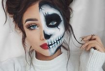 Halloween costumes-make up