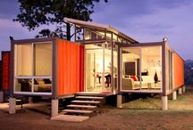 Container homes design / by Roger Dubois